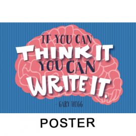 Gary Hogg Poster - If You Can Think It