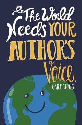 The world needs your author's voice.